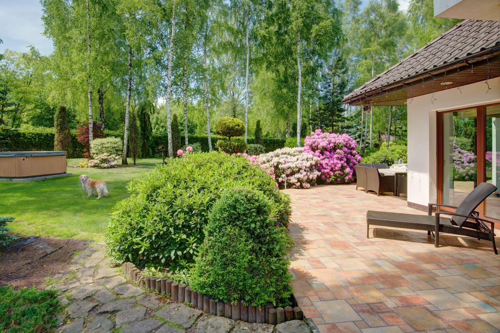 Nid'Dom : Mon jardin entretenue toute l'année à Anglet Bayonne, Biarritz ......