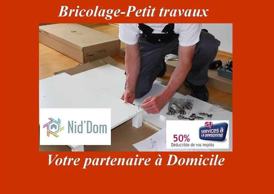 Les bricoleurs Nid'Dom vous apportent une réponse rapide sur Anglet, Bayonne et Biarritz