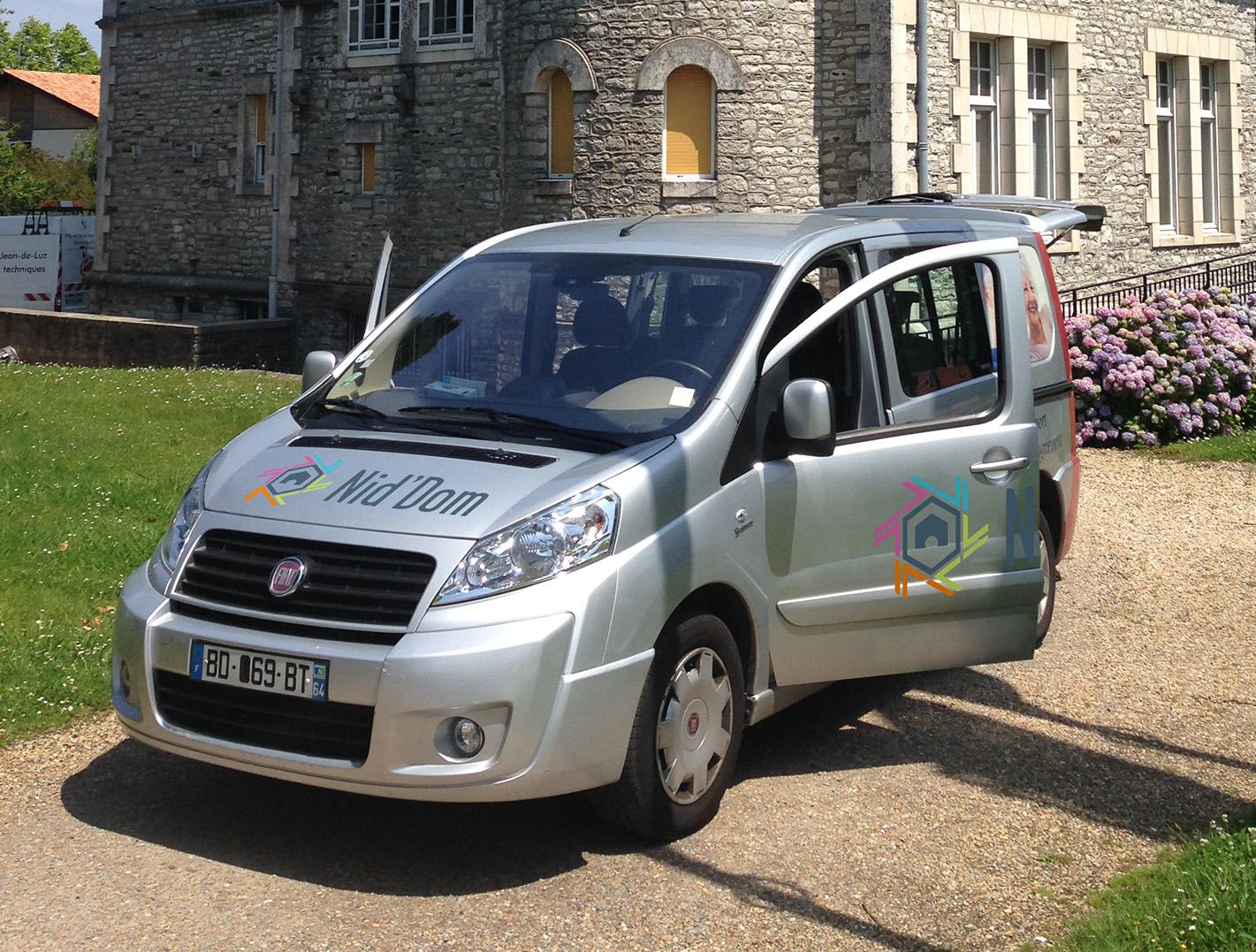 services transport accompagnement Niddom Anglet pour les personnes handicapées