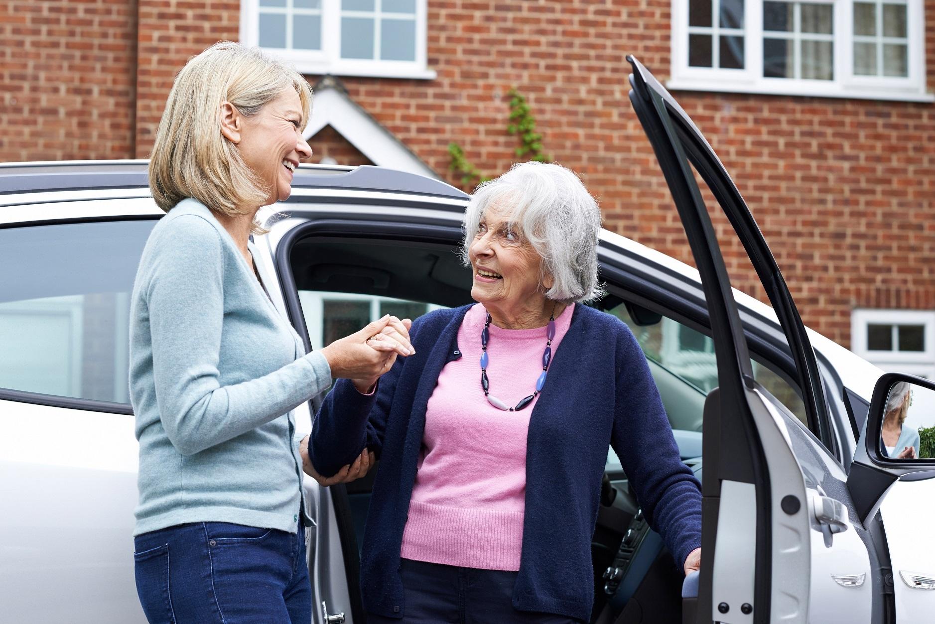 Nid'Dom Anglet service transport accompagnement, personnes âgées et handicapées