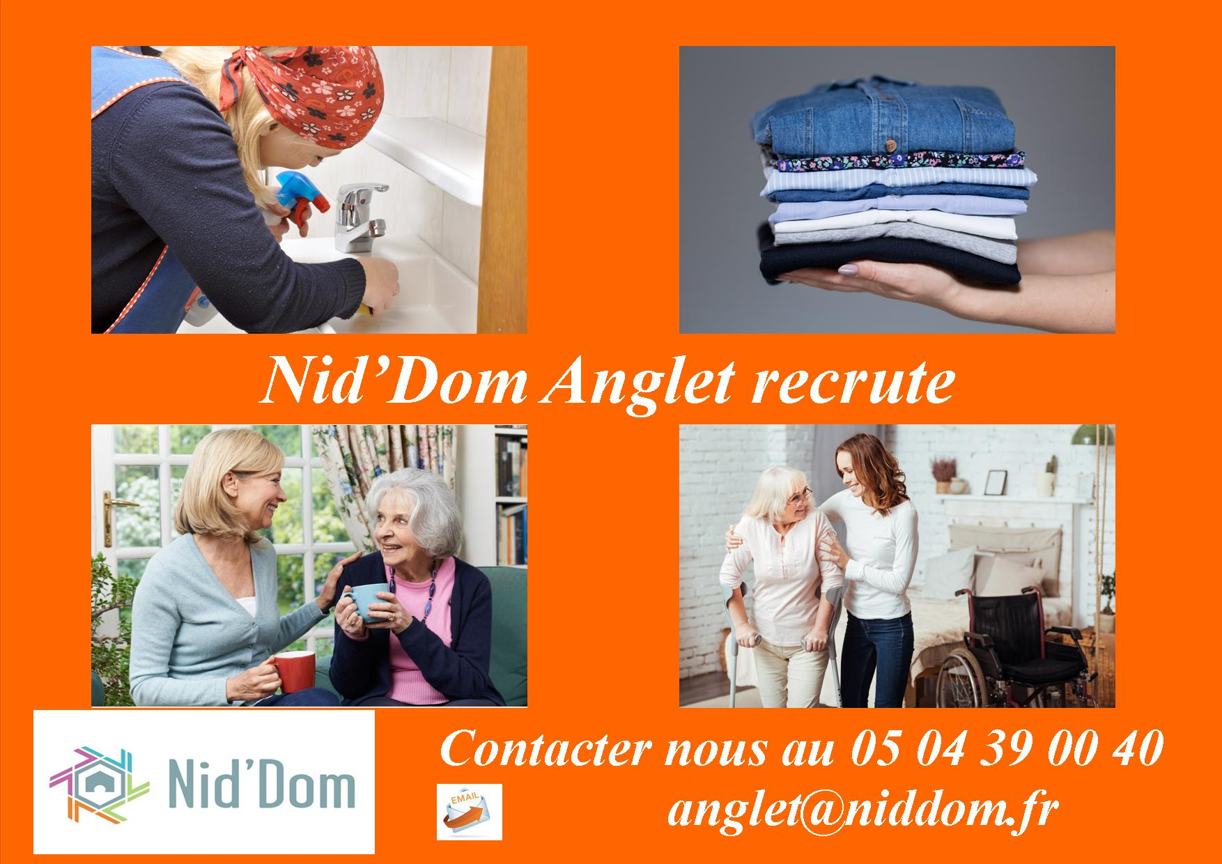 Nid'Dom Anglet recrute