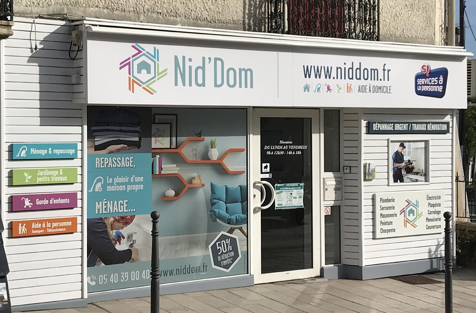 Nid'Dom vous propose des services Ménage, repassage, Aide à Domicile sur Anglet, Bayonne, Biarritz....