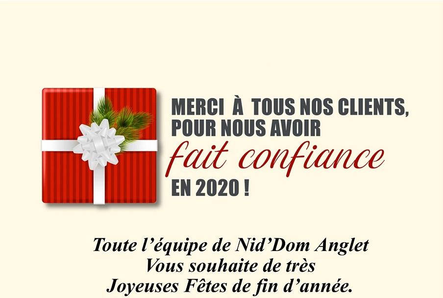 Nid'Dom Joyeuses fêtes 2020