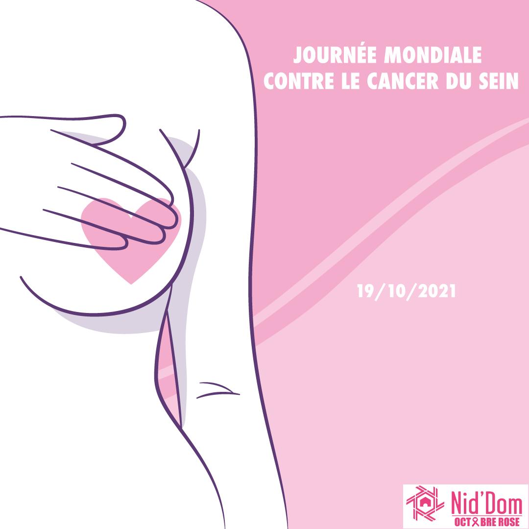 JOURNÉE MONDIALE CONTRE LE CANCER DU SEIN / NID'DOM